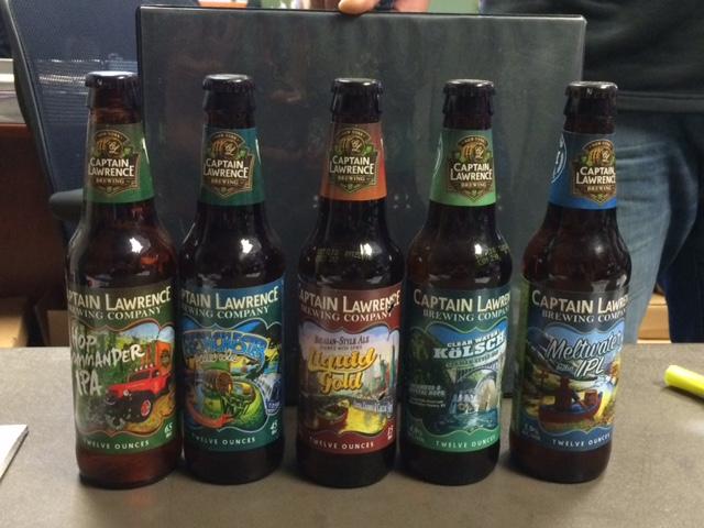 line of captain's core beers