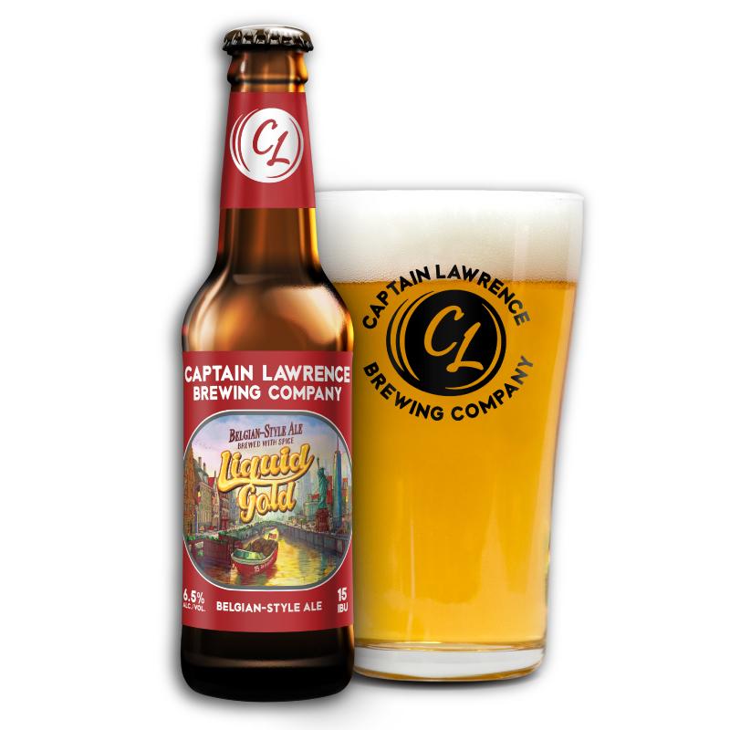 Liquid Gold Belgian-style ale