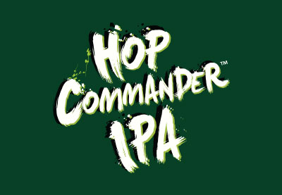 Hop Commander IPA label