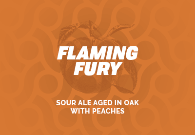 Flaming Fury - Sour Ale Aged in Oak with Peaches