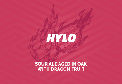 Hylo - Sour Ale Aged in Oak with Dragon Fruit