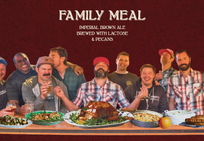 Famile Meal - Imperial Brown Ale Brewed with Lactose and Pecans