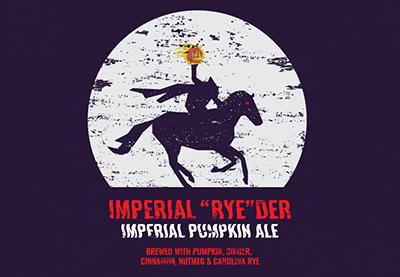 Imperial Ryeder pumpkin ale