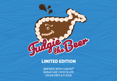 Fudgie the Beer. A collaboration with Carvel Ice Cream