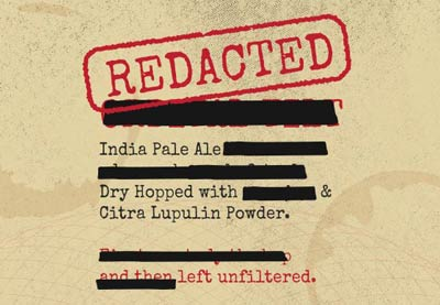 Redacted India Pale Ale