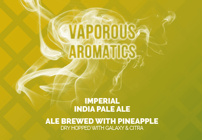 vaporous aromatics with pineapple