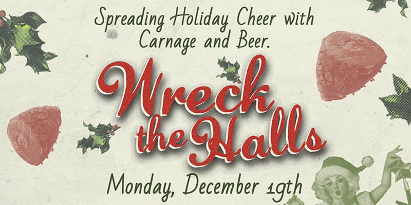 spreading holiday cheer with carnage and beer