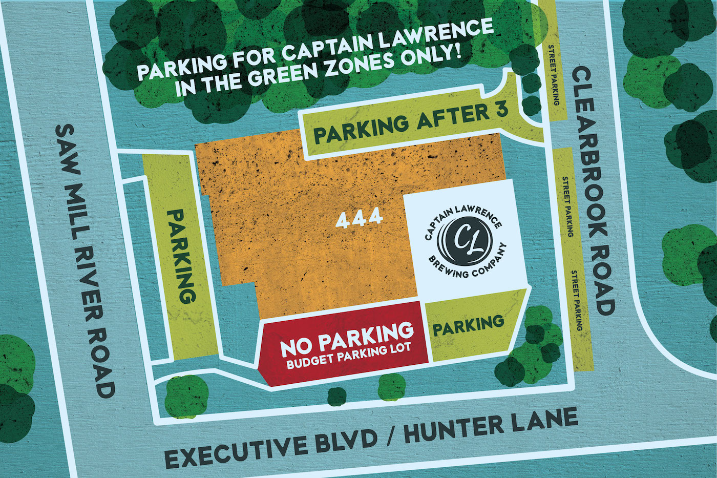 captain lawrence brewing co parking