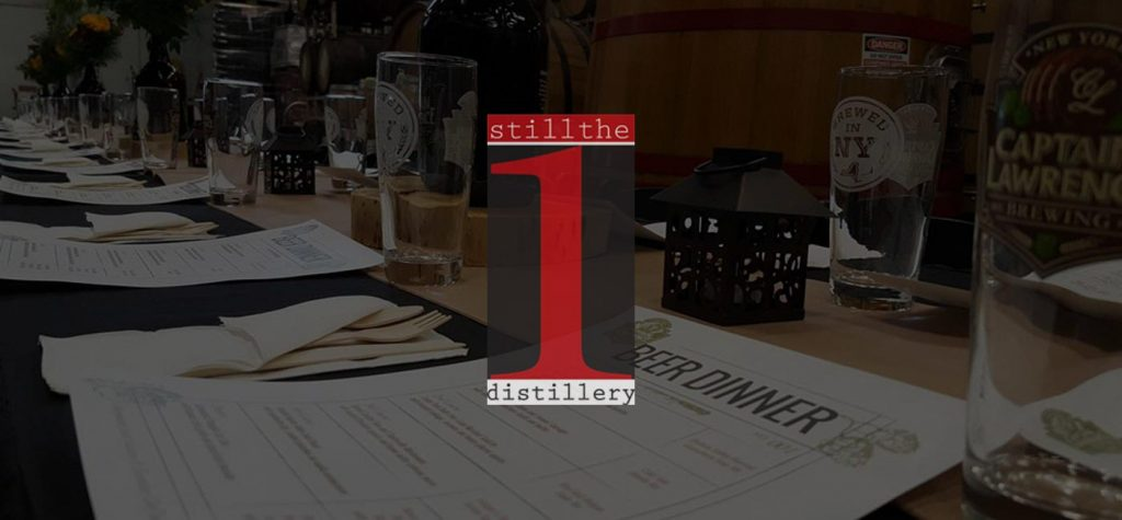 clbc beer dinner series with still the one distillery