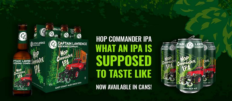 Hop Commander IPA is what an IPA is supposed to taste like