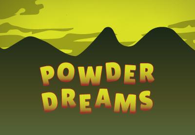 Powder Dreams beer label