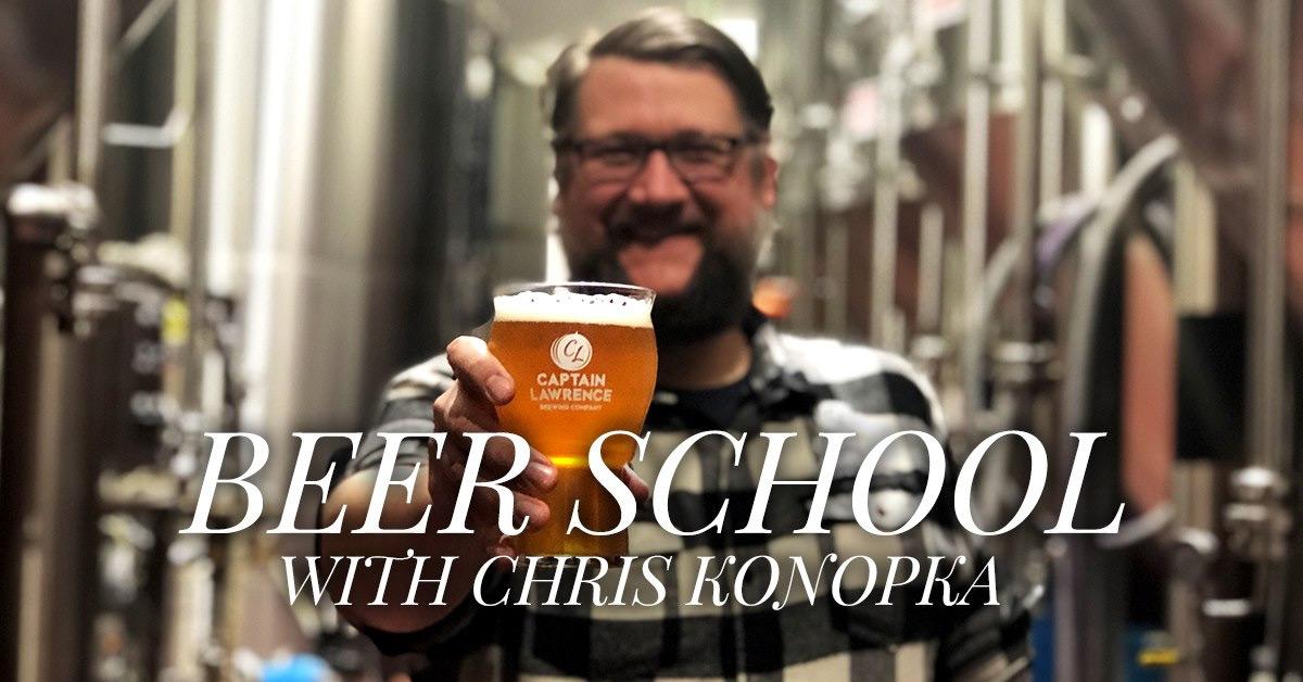 Beer School with Chris Konopka