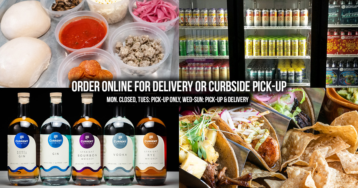 Order Online For Delivery Or Curbside Pick-up, Pick-up only monday and tuesday