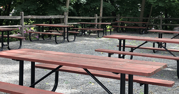 Beer Garden Seating
