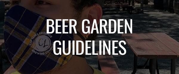 Beer Garden Guidelines