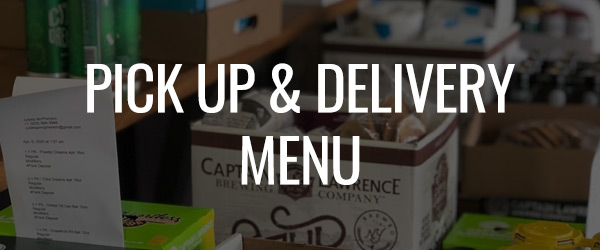 Pick Up & Delivery Menu