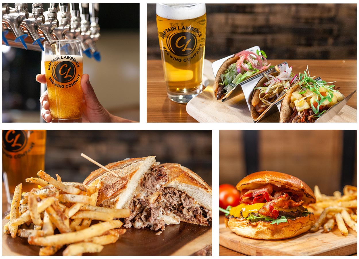 CL Beer, Tacos, and Sandwiches