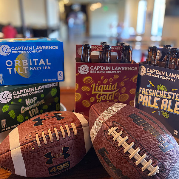Game Day Beer Package with Footballs