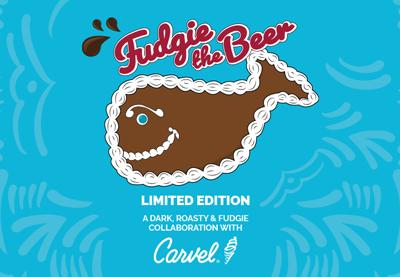 Fudgie the Beer 2021 label art